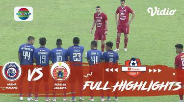 Berita video highlights Shopee Liga 1 2019 antara Arema FC vs Persija Jakarta, Sabtu (23/11/2019) di Stadion Kanjuruhan, Kab. Malang, yang berakhir dengan skor 1-1.