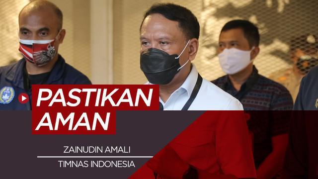 Berita Video Menpora Zainudin Amali Pastikan Laga Uji Coba Timnas Indonesia Aman dan Sesuai Protokol Kesehatan