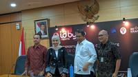 Konferensi Pers IDByte Esports 2019 bersama Kemkominfo, Kemenpora, dan BEKRAF di Gedung Kemkominfo, Jakarta Pusat, Selasa (27/8/2019). (Bola.com/Muhammad Adiyaksa)