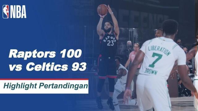 Berita Video Highlights NBA, Toronto Raptors Vs Boston Celtics 100-93