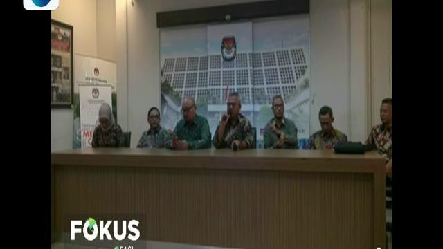 Ketua KPU Arief Budiman mengatakan penetapan itu akan digelar pada rapat pleno terbuka minggu 30 Juni 2019.