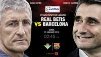 La Liga_Real Betis Vs Barcelona (Liputan6.com/ Trie Yas)