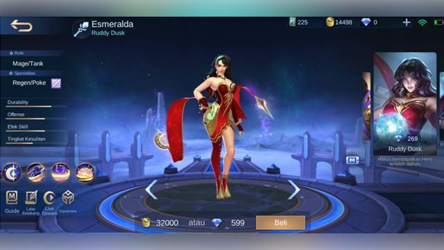 Esmeralda: Ruddy Dusk
