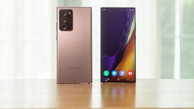 Samsung Galaxy Note20 dan Galaxy Note20 Ultra.©Samsung