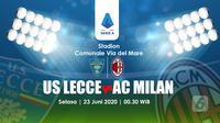 PREDIKSI LECCE VS AC MILAN (Liputan6.com/Abdillah)