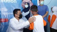 Calon Wali Kota Medan, Bobby Afif Nasution, berjanji akan memberikan beasiswa kepada para penghafal Al-Qur'an dan ustaz ke Kairo, Mesir, jika terpilih di Pilwalkot Medan. (Liputan6.com/ Ist)