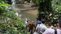 Sungai Denggung yang terletak tidak jauh dari mata air Toino yang dipervaya sebagai mata air enteng jodoh (ist)