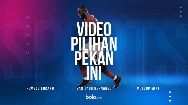 Berita video Spotlight yang berisi video pilihan tiap pekannya. Pekan ini hadir momen dari penyerang Manchester United, Romelu Lukaku.