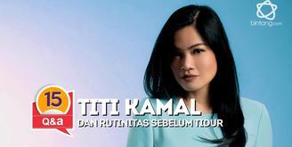 Bintang.com mengorek rahasia Titi Kamal. Penasaran? Simak videonya.
