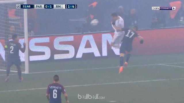 Berita video gol-gol yang tercipta saat Real Madrid mengalahkan PSG 2-1 pada leg II 16 Besar Liga Champions 2017-2018. This video presented by BallBall.
