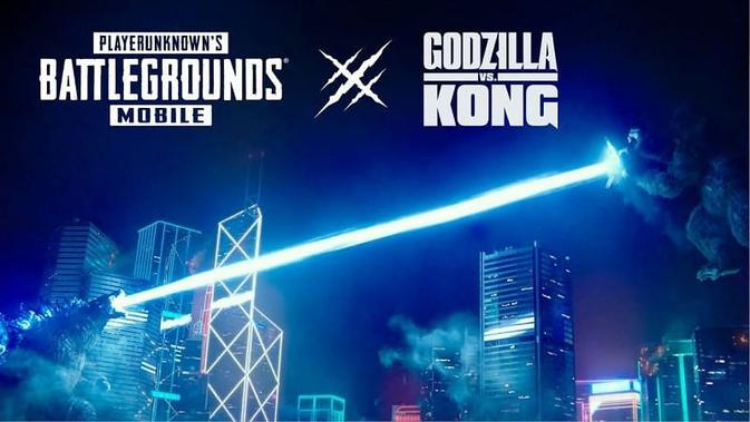 PUBG Mobile and Godzilla Vs Kong Officially Collaborate