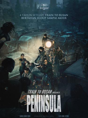 Poster film Peninsula. (Foto: Dok. CBI Pictures)
