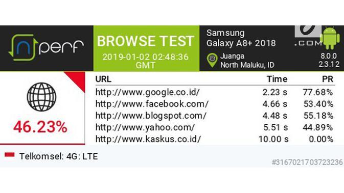 Uji Internet di Morotai. (Liputan6.com/ Agustin Setyo Wardani)