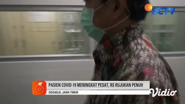 Tingginya kasus pasien positif Covid-19 yang dirawat di tujuh rumah sakit rujukan di Sidoarjo, saat ini kondisinya sudah penuh. Untuk merawat pasien Covid-19 baru, Pemkab Sidoarjo akan menunjuk 4 hingga 5 rumah sakit rujukan baru.