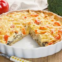 ilustrasi Resep Quiche Ayam/copyright Shutterstock