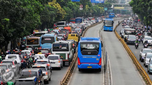6 Rute Bebas Macet Transjakarta Mulai Berlaku Senin Depan News