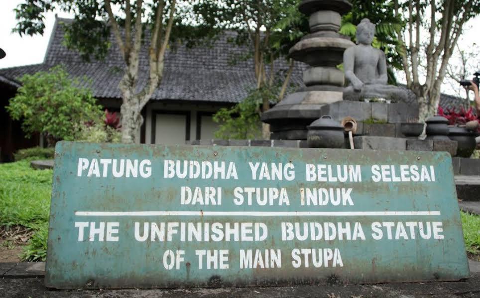 The Unfinished Buddha di Candi Borobudur (Liputan6/Edhie Prayitno Ige)