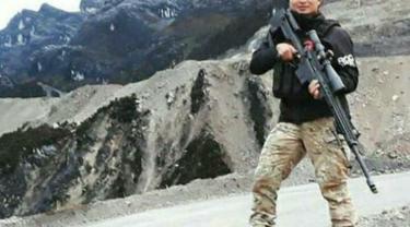 Anggota Direktorat Reserse Kriminal Umum Polda Papua Briptu Hedar diculik dan dibunuh di Kampung Usir, Kabupaten Puncak, Papua. (dok Divisi Humas Polri)