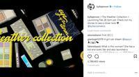 Stormi Webster memiliki koleksi kosmetik sendiri dalam Kylie Cosmetics (instagram/kyliejenner)