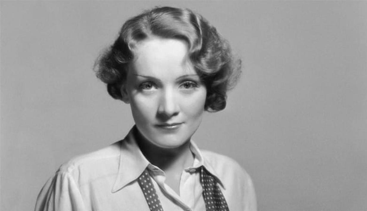 Marlene Dietrich lahir di Berln pada tahun 1901. Ia memilih karier dalam bidang akting namun tetap miliki pandangan politik yang keras. (Getty Images/Aljazeera)
