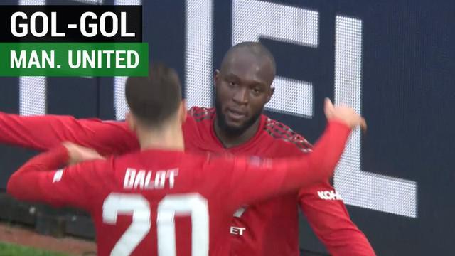 Berita video gol-gol kemenangan Manchester United atas Reading pada babak III Piala FA 2018-2019.