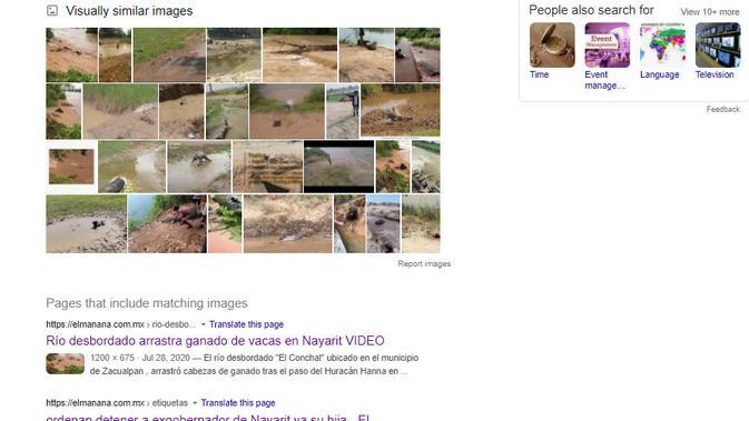 Cek Fakta Liputan6.com menelusuri klaim video sejumlah sapi hanyut terbawa arus bajir NTT
