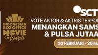 Yuk, Buruan Voting Aktor & Aktris Pilihan Kamu di IBOMA 2020. sumberfoto: Vidio