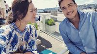 Raisa dan Hamish Daud bulan madu di Italia. (Instagram/hamishdw)