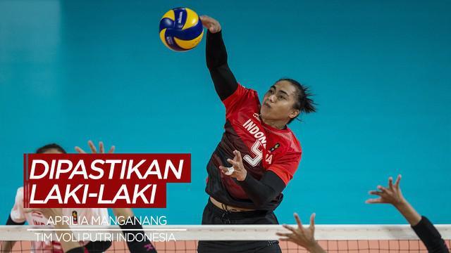 Berita Video Atlet Voli Berprestasi Indonesia, Aprilia Manganang Dinyatakan Sebagai Laki-laki
