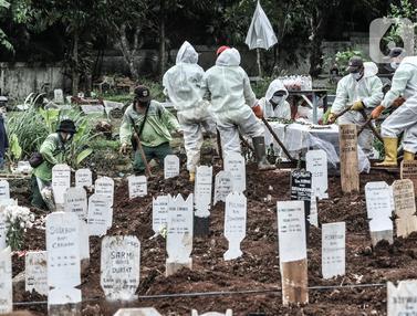 DKI Siapkan 6 Lokasi Baru untuk Pemakaman Jenazah Covid-19
