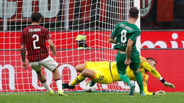AC Milan Dipermalukan Fiorentina di San Siro
