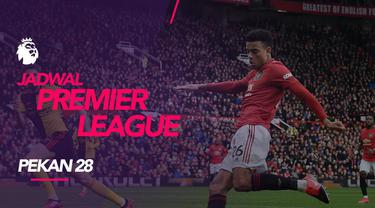 Berita video jadwal Premier League 2019-2020 pekan ke-28. Manchester United bertandang ke markas Everton, Minggu (1/3/2020) di Goodison Park, Liverpool.
