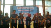 Kemenpar bekerjasama dengan Pemprov Banten kembali menggelar Festival Tanjung Lesung yang meliputi Rhino Cross Triathlon (istimewa)
