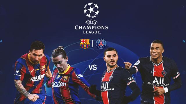 Liga Champions Prediksi Susunan Pemain Barcelona Vs Psg Adu Hebat Messi Vs Mbappe Dunia Bola Com