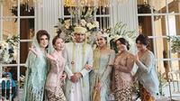 Momen akad nikah Tania Nadira dan Abdulla Elwi (Sumber: Instagram/ayutingting92)
