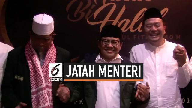 Ketum PKB Muhaimin Iskandar berharap jumlah menterinya dalam kabinet Jokowi tidak dikurangi.