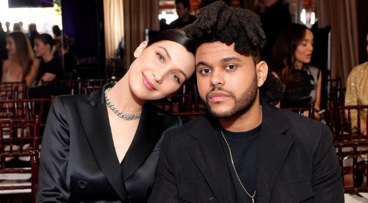 The Weeknd dan Bella Hadid (The Hollywoodlife)