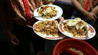 Nasi Goreng Kambing Kebon Sirih. (Daniel Kampua/Bintang.com)