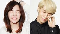 Sunny SNSD dan Jonghyun SHINee (via soompi.com)