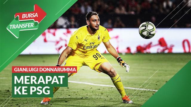 Berita Video, Tinggalkan AC Milan, Gianluigi Donnarumma Selangkah lagi ke PSG