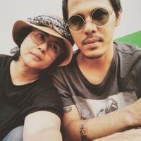 Ria Irawan bersama Mayky Wongkar (Instagram/@riairawan)