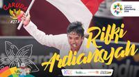 Garuda Kita Asian Games Rifki Ardiansyah (Bola.com/Foto: Peksi Cahyo /Grafis: Adreanus Titus)