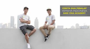 Imanuel Putra dan Galang Hendra merupakan dua pebalap Yamaha Indonesia yang beruntung bisa belajar langsung dari VR46 Academy.