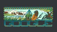Google Doodle Taman Nasional Lorentz. (Doc: Google Doodle)