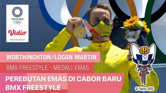 Berita video highlights aksi-aksi dari peraih medali emas di cabang olahraga baru Olimpiade, BMX Freestyle, untuk nomor putri dan putra, Minggu (1/8/2021) pagi hari WIB.