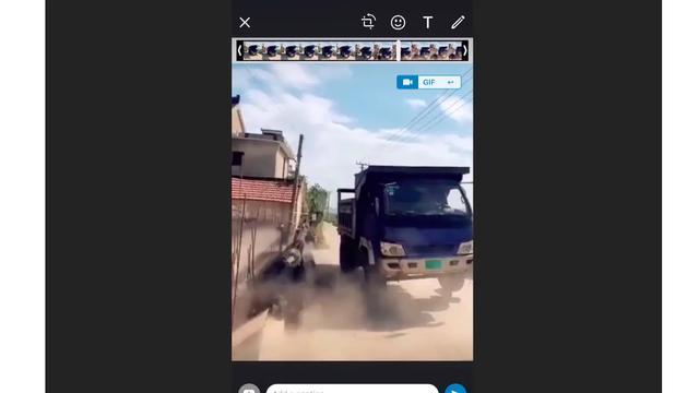 Boomerang di WhatsApp