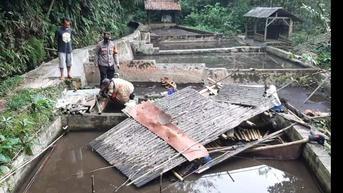2 Warga Tasikmalaya Tewas Terimpit Bangunan Roboh Saat Beli Bibit Ikan