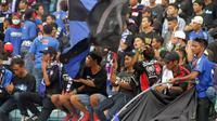 Suporter PSIS Semarang, Snex. (Bola.com/Ronald Seger)