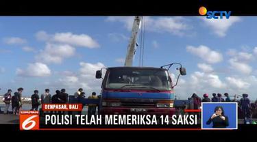 Polisi telah mengidentifikasi 21 kapal yang terbakar di dermaga barat Pelabuhan Benoa, Denpasar, Bali.