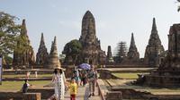 Kawasan kota lama Ayutthaya Thailand. (dok. foto Romeo GACAD / AFP)